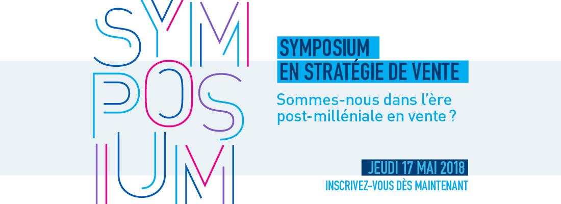 Inscription Symposium Institut de vente HEC Montréal